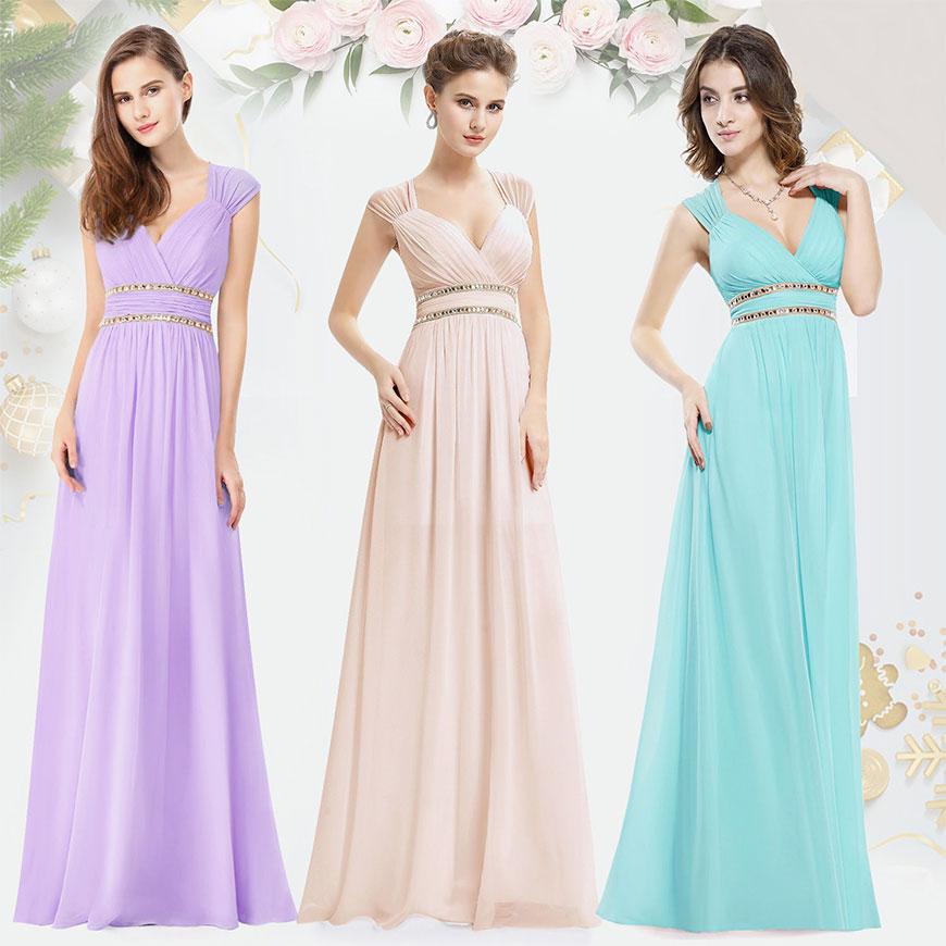 3d609ea7713 Jako svědkyně si můžete dovolit šaty mírně honosnější